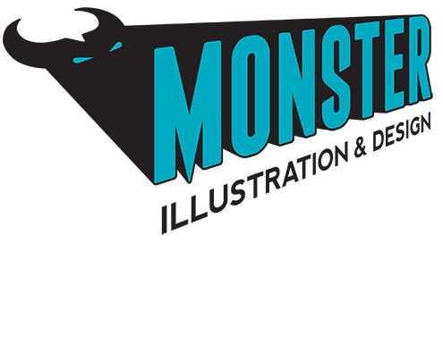 Monster Illustration and Design